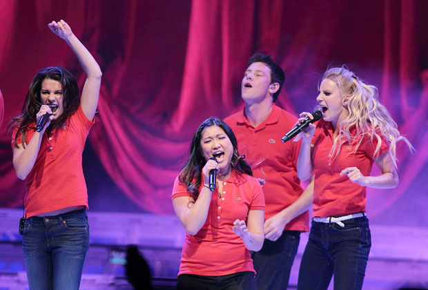 The 'Glee' cast