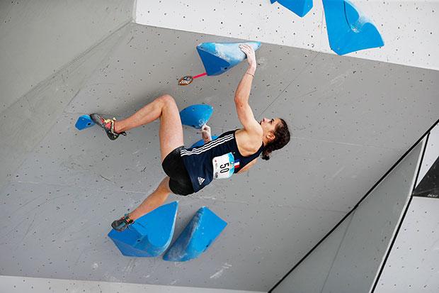 Luce Douady sports climbing