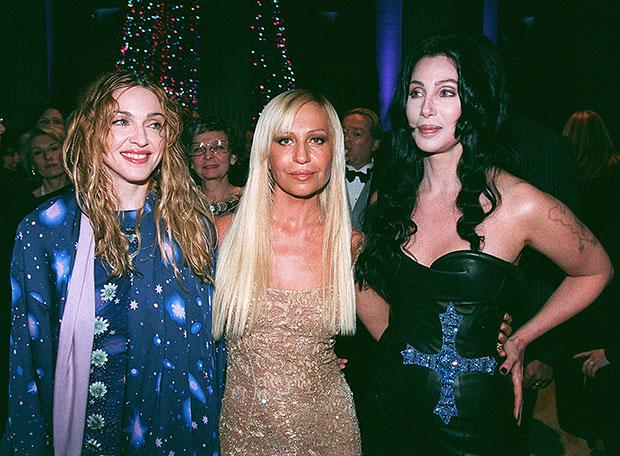 Cher & Madonna in 1998