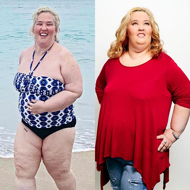 Mama June in 2020 & 2015