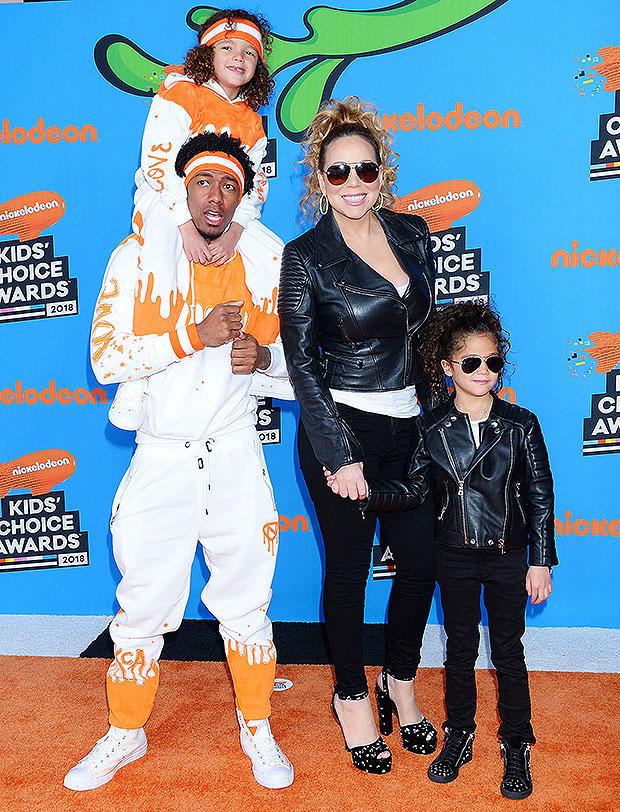Mariah Carey, Nick Cannon & twinsM