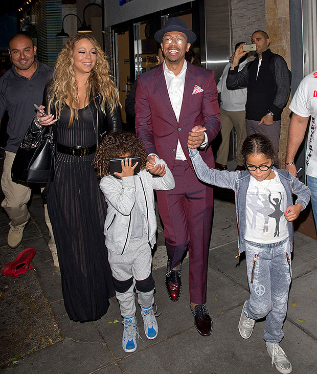 Nick Cannon, Mariah Carey and their kids