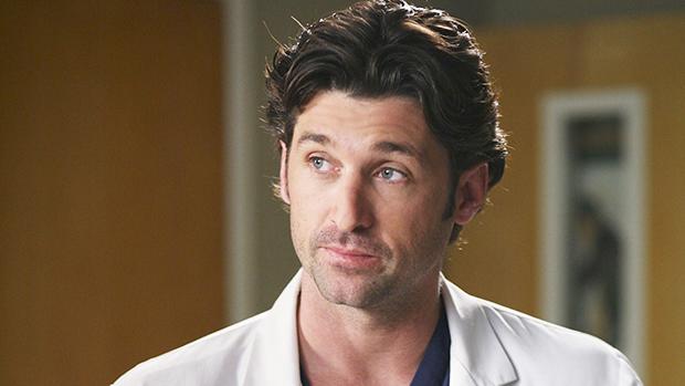 Patrick Dempsey in 'Grey's Anatomy'