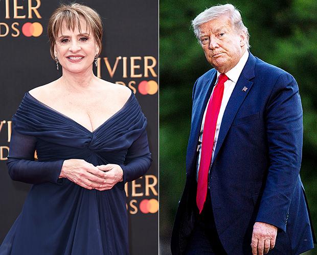Patti Lupone Donald Trump