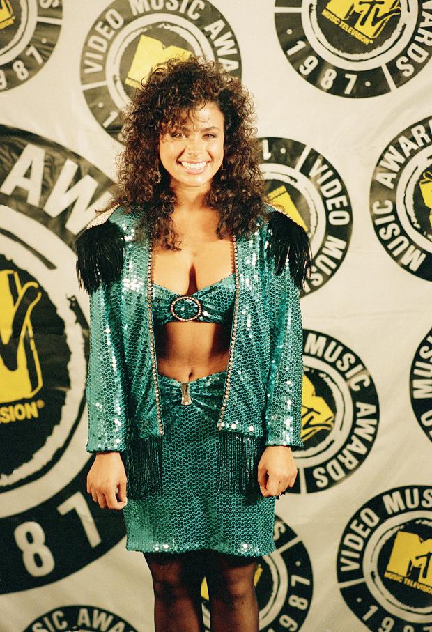 Paula Abdul MTV Awards 1987