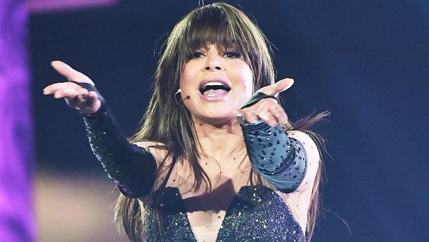 Paula Abdul on stage
