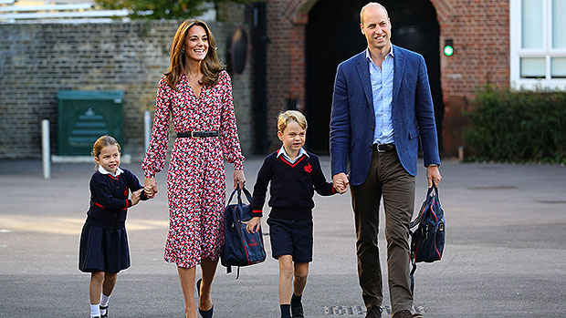 Princess Charlotte, Kate Middleton, Prince George, Prince William
