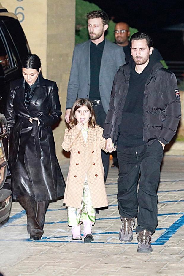Kourtney Kardashian, Scott Disick, Kids
