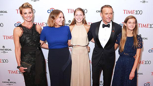 Tim McGraw & Faith Hill's family
