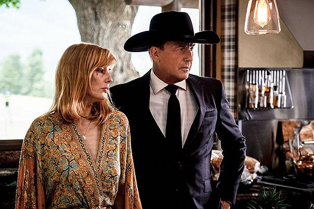 Kelly Reilly Kevin Costner