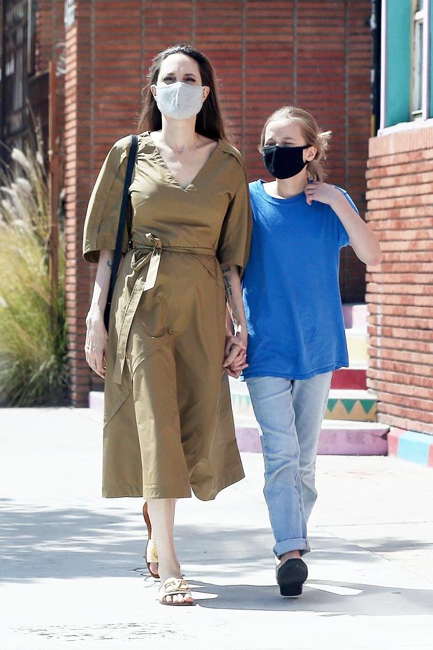 Angelina Jolie & Viviene
