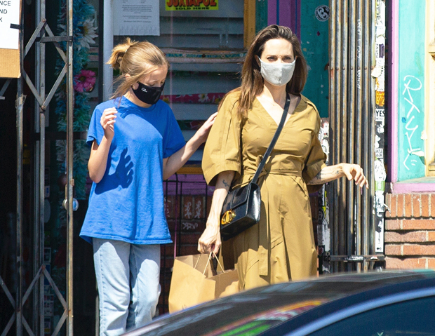 Angelina Jolie & Vivienne