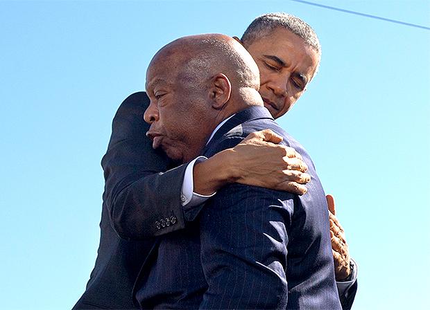 John Lewis Barack Obama