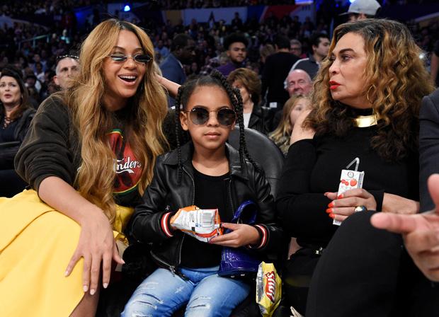 Beyonce, Blue Ivy Carter, Tina Knowles