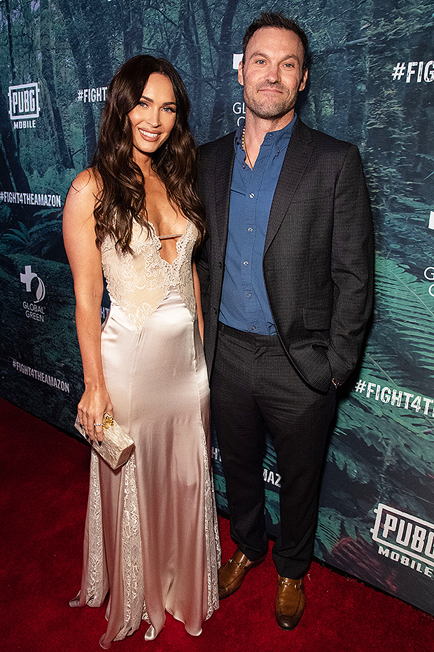 Brian Austin Green & Megan Fox