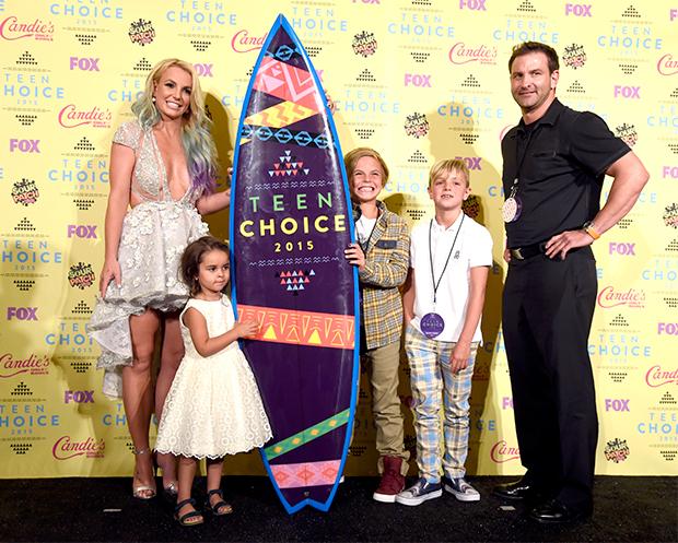 Britney Spears & family