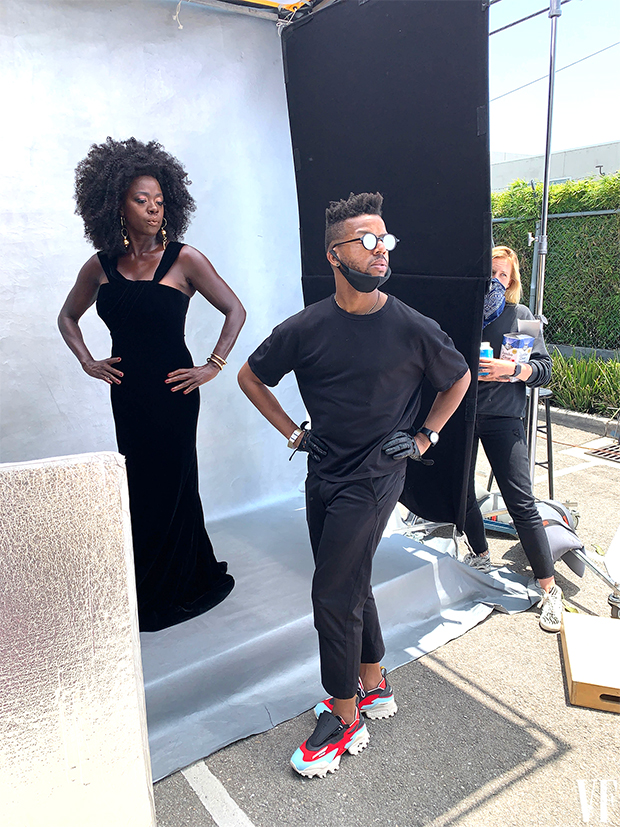 Dario Calmese & Viola Davis for 'Vanity Fair'