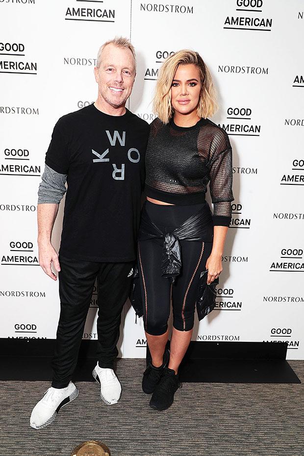 Gunnar Peterson & Khloe Kardashian
