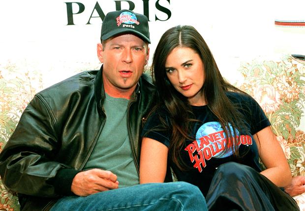 Demi Moore & Bruce Willis