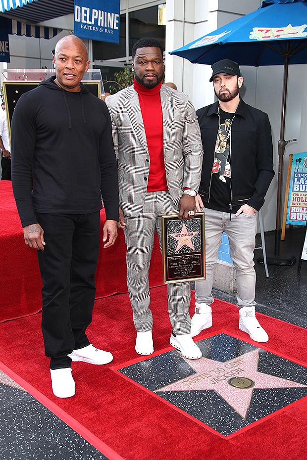 Dr. Dre, 50 Cent, Eminem
