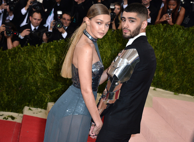 Gigi Hadid and Zayn Malik
