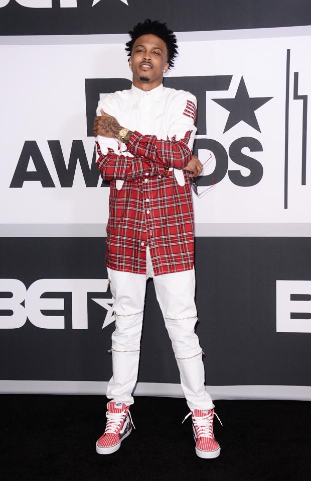 August Alsina at BET Awards