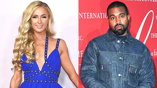 Paris Hilton Kanye West