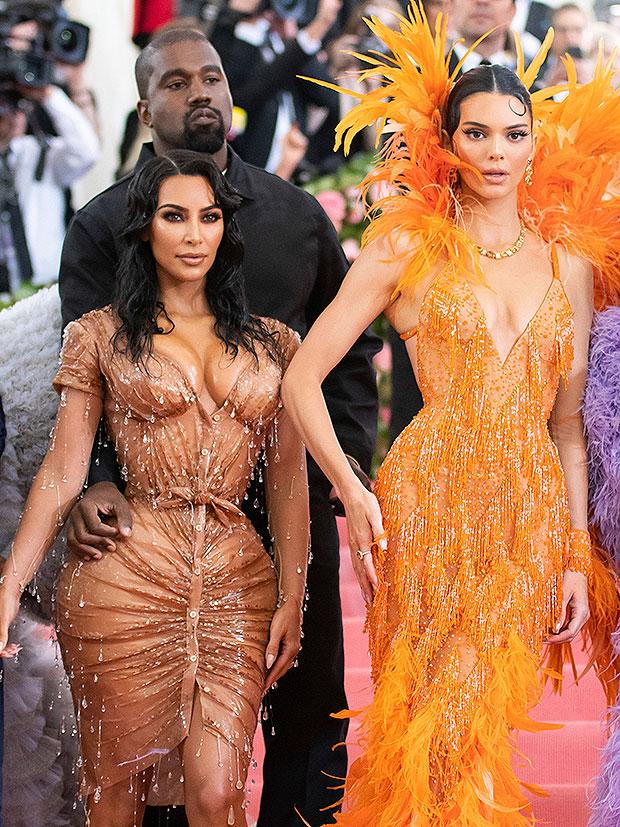 Kim Kardashian, Kanye West & Kendall Jenner 2019 Met Gala