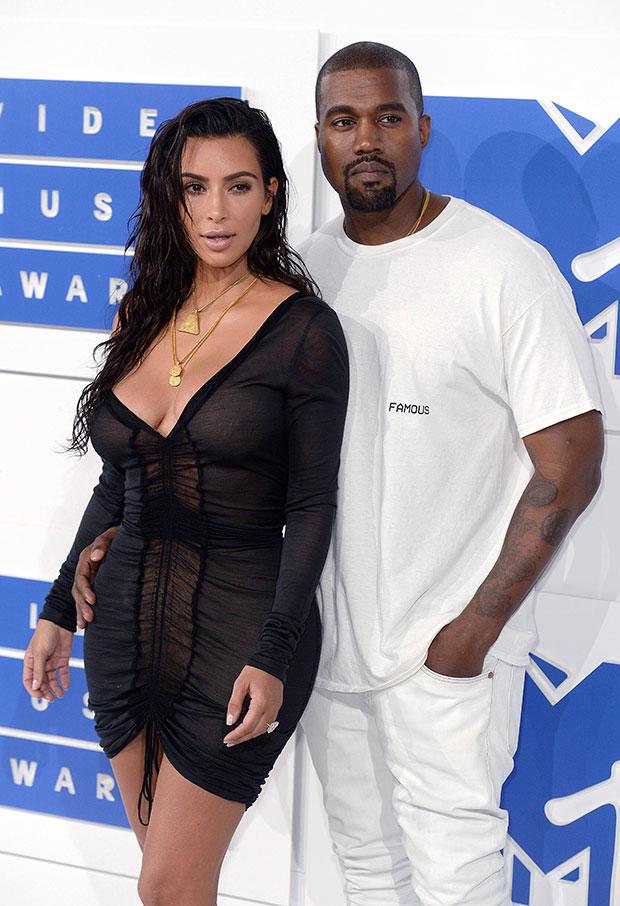 Kim Kardahsian and Kanye West
