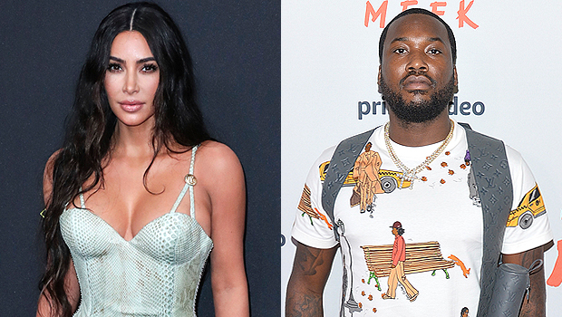 Kim Kardashian and Meek Mill