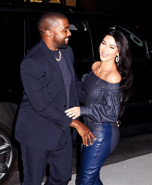 Kim Kardashian & Kanye West at the 2019 WSJ Innovator Awards