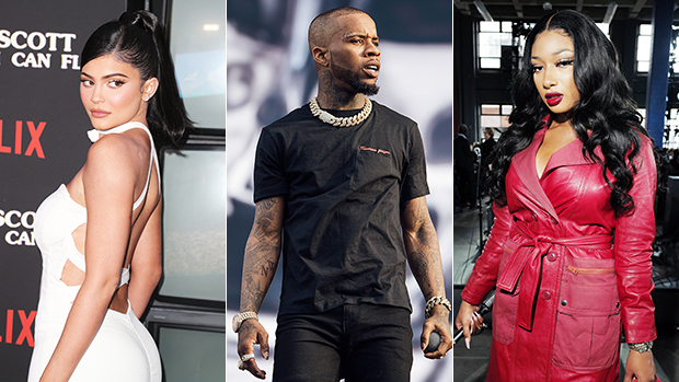Kylie Jenner With Tory Lanez Megan Thee Stallion