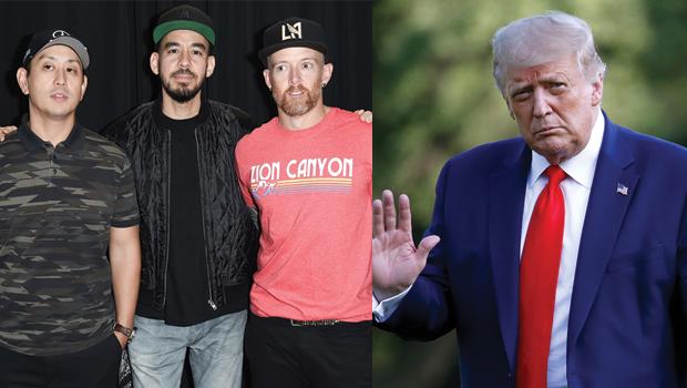 Linkin Park, Donald Trump