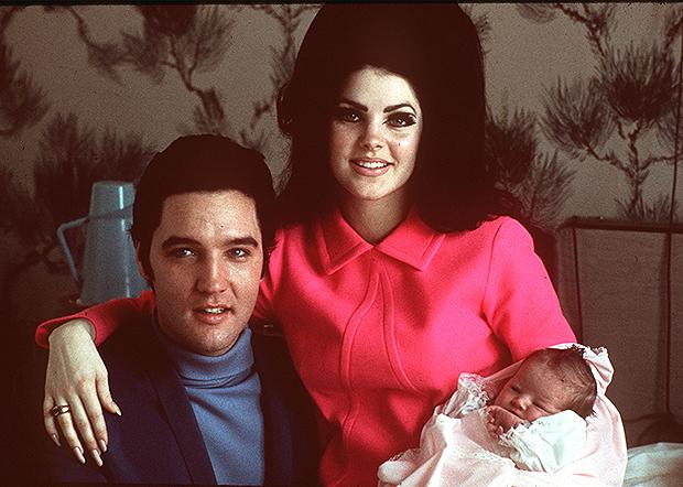 Elvis & Priscilla Presley