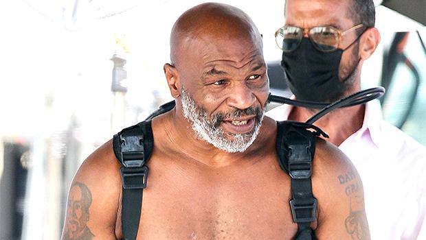 Mike Tyson in LA