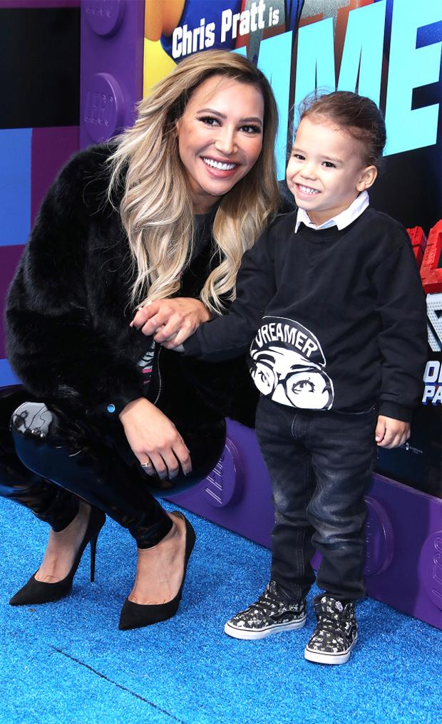 Naya Rivera and her son Josey