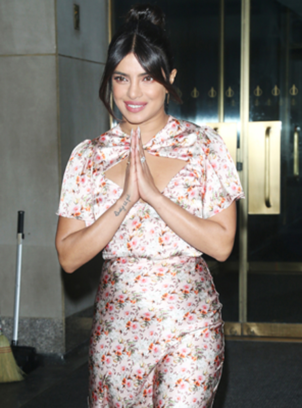 Priyanka Chopra Supporting Pregnant Sophie Turner