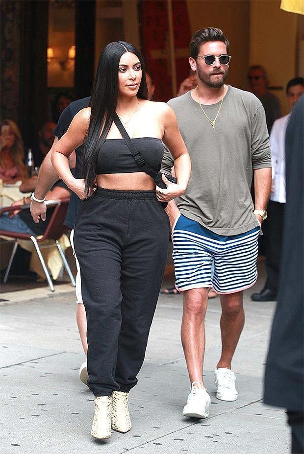 Scott Disick & Kim Kardashian