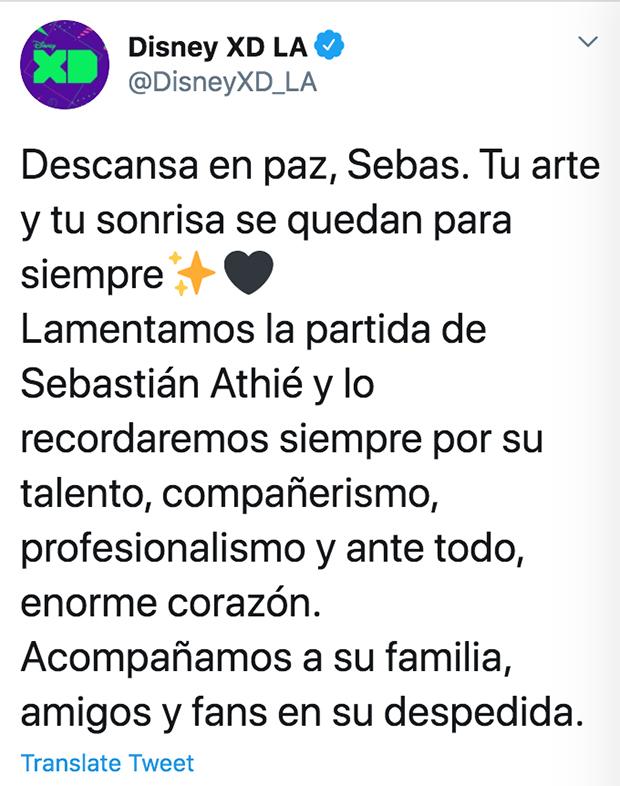 Disney Channel Latin America Twitter