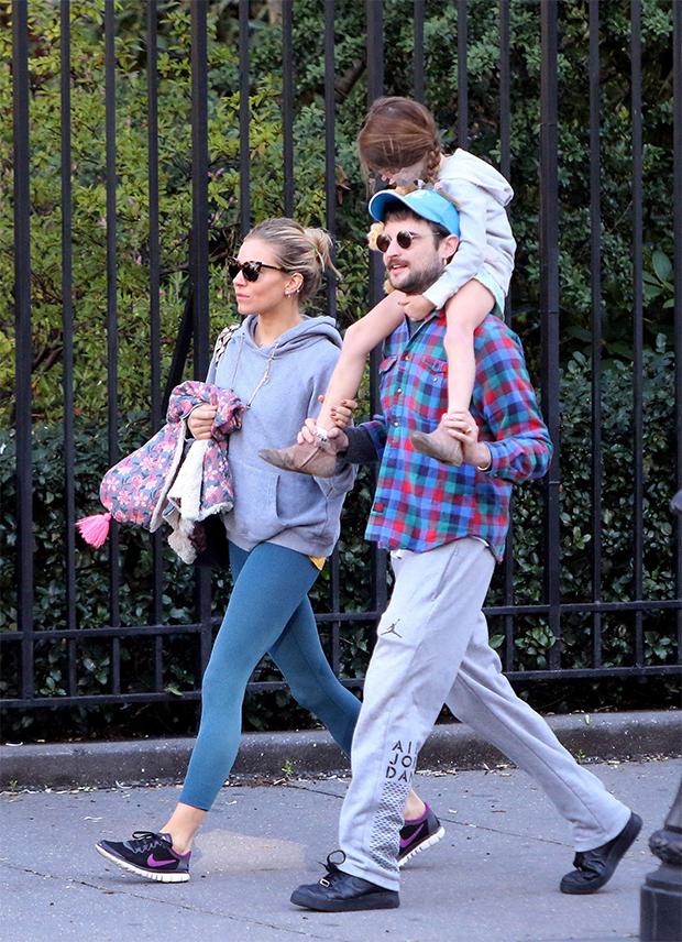 Sienna Miller & daughter Marlowe