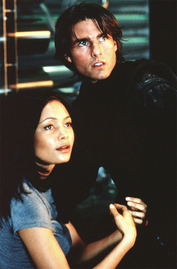 Thandie Newton & Tom Cruise