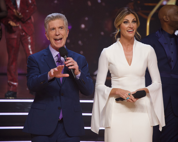 Tom Bergeron and Erin Andrews
