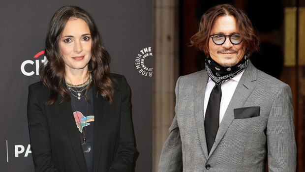 Winona Ryder Defends Johnny Depp Against 'Horrific Allegations': It's 'Impossible' To Believe He's 'Violent'