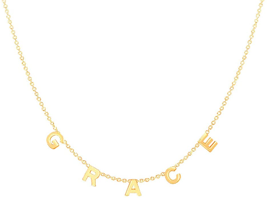 gold custom necklace