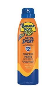 Banana Boat SPF 100 sunscreen