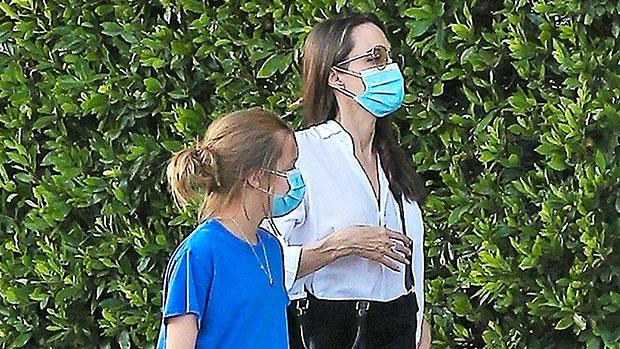 Angelina Jolie & daughter Vivienne