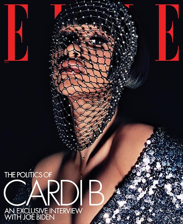 Cardi B Elle Magazine