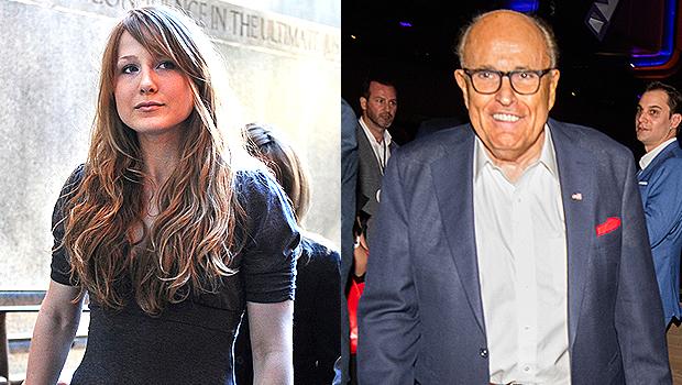 Caroline Giuliani, Rudy Giuliani