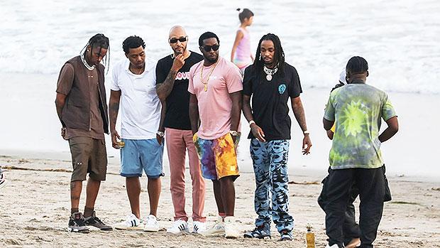 Travis Scott, Nas, Swizz Beatz, Diddy & Quavo