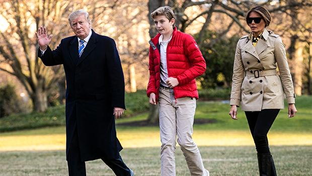 Donald Barron Melania Trump